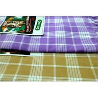 BATH TOWEL--COTTON TOWEL--A Set Of Two South Indian Towels-- Size 30 X 60 - 73589324
