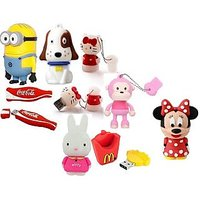 Designer Fancy 8GB Pendrive:- Select Any One