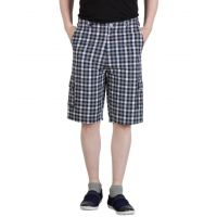 Comfort Wear Checkered Stylish Cotton Capri's