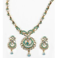 Earring & Necklace Set By Kavyanjali Jewels - 73651746