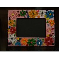 Assorted Quilled Hand Made Photo Frame.