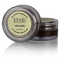 Khadi Natural Chocolate Lip Balm With Beeswax And Shea Butter 10 Gm
