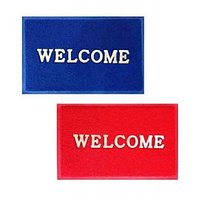 ILiv Red Blue Welcome Mat Set Of 2