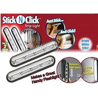 STICK N CLICK LED LIGHT FOR WARDROBE,HOUSEHOLD , KITCHEN ,CAR ECT