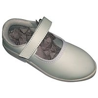 School Shoes White Kid's  (Greenwood School Formal Shoes (Girls) - White )