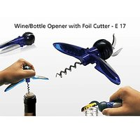 Wine Opener, Bottle Opener With Foil Cutter