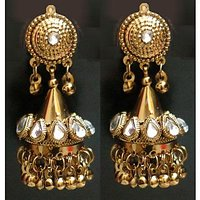 HOME  Devider JEWELLERY  Devider EARRINGS  Devider  36garhiart Light Weight Gold