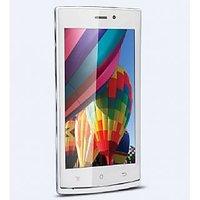 IBall Andi 4.5P Glitter 3G Mobile Phone With IPS Display, 1 GB RAM (WHITE)