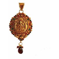 Traditional  Temple  Jewelry Laxmi Pendant Online - 73474810