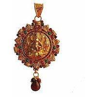 Traditional  Temple  Jewelry Laxmi Pendant Online - 73476054