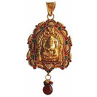 Traditional  Temple  Jewelry Laxmi Pendant Online - 73476112