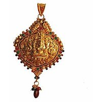 Traditional  Temple  Jewelry Laxmi Pendant Online - 73482876