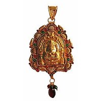 Traditional  Temple  Jewelry Laxmi Pendant Online - 73483318