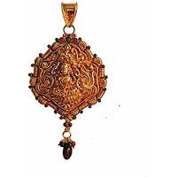 Traditional  Temple  Jewelry Laxmi Pendant Online