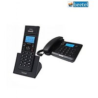 Beetel X-78 Caller ID Combo (Cordless+Landline) Unit - Intercom/Call Confrencing