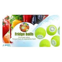 Fridge Balls(Set Of 3 )-Original Eleminate Odour Keeps Fruits & Veg Garden Fresh