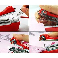 Mini Portable Hand Sewing Machine-stapler Model (Set Of 2)