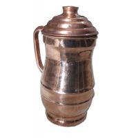 AsiaCraft Pure Copper Jug With Lid