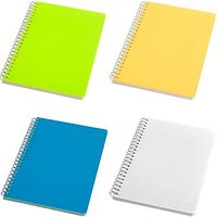 A4 SPIRAL NOTEBOOK (SET OF THREE & 1 FREE TOTAL 4)
