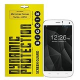 BIGKIK CLEAR  SCREEN PROTECTOR FOR MICROMAX CANVAS TURBO A250
