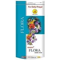 Ashika's Flora Zipper Pouch For Daily Prayer 140 Grams Incense Sticks (109 Sticks Per Box)