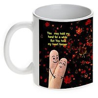 You Hold My Heart Forever-Love-Valentine Coffee Mug-Mugwala