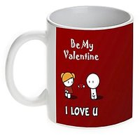 Be My Valentine-Valentine Mug-Mugwala