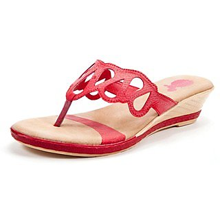 Marc Loire Heartwine Ally Red Women Sandal