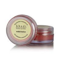KHADI NATURAL WATERMELON LIP BALM- With Beeswax & Shea Butter  10 Gm