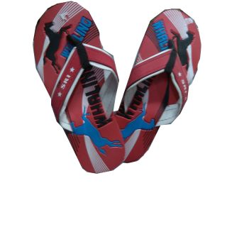 Whaling Red Flip Flop