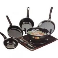 5 Pcs Hard Coat Cook And Serve Ware