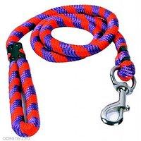 Petsplanet High Quality Nylon Rope Leash- RED & PURPLE ( LARGE )