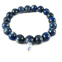 LAPIS LAZULI STONE POWER BRACELET (8MM)( CRYSTAL HEALING )