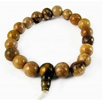 """CARNELIAN STONE POWER BRACELETS (8 MM) ( CRYSTAL HEALING ) ASTRO PRODUCT"