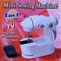 4 In 1 Mini Sewing Machine With Adapter And Foot Pedal Easy Portable New