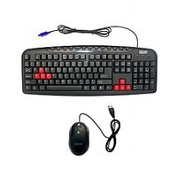 TRICOM Keyboard Mouse Combo Kit Multimedia PS2 TRICOM With 1 Year Warrenty