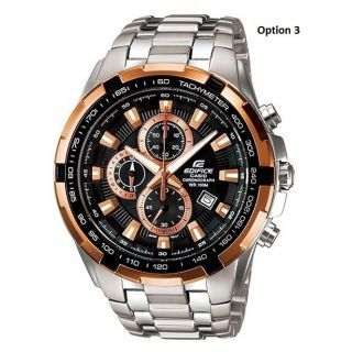 Casio Edifice EF-539D-1AV Chronograph Watch For Men With 1 Year Warranty - 73939766