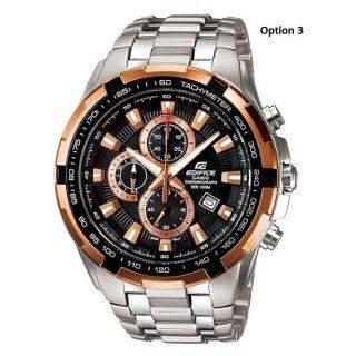 Casio Edifice EF-539D-1AV Chronograph Watch For Men With 1 Year Warranty - 73939766
