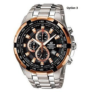Casio Edifice EF-539D-1AV Chronograph Watch For Men With 1 Year Warranty