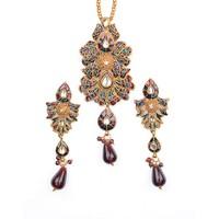 In Vogue Pendant Set By Kavyanjali Jewels  010
