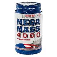 Mega Mass 4000 - Mass Gainer / Increases Stamina / Body Development - 5 Lbs