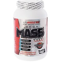 Mega Mass 10000 - Weight Gainer / Muscle Grow - 2 Lbs