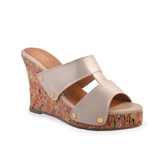 Ladies Wedges / Sandals / Heels/High Heel Wedge - ZDF0117 - BEIGE - Zaera