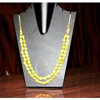 Women's Beautiful Yellow Necklace