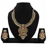 Kundan Necklace Set By Zaveri Pearls