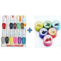 Buy NAIL ART KIT 12 SHADES & Get Nail Polish Remover Free