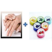 Buy 2Set Of Artificial Fashionable Nails & Get Nail Polish Remover Tissue Free