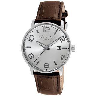 Kenneth Cole Analog Silver Dial Men's Watch - IKC8006