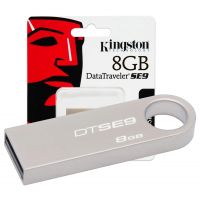 Kingston Data Traveler 8GB Pen Drive (Steel)