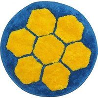 Gen Cotton Blue Yellow Large Door Mat (1 Mat)